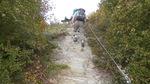 Felsweg auf dem Rheinsteig 2014